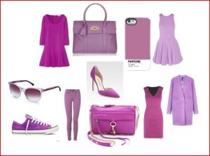 radiant orchid outfit